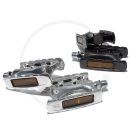 MKS IC-Lite Pedals with built-in Reflectors