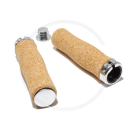 Cork Handlebar Lock-On Grips | 130mm