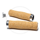 Pure Cork Natural Handlebar Lock-On Grips | 130mm