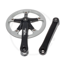 Miche Team 1 Single Speed Cranks with Rock Ring | 1/2 x...