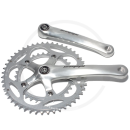 Stronglight Double Crank Set *Impact Compact* | 110mm BCD | Square Taper JIS