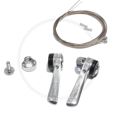 Shimano SL-R400 Rahmen Schalthebel für Anlötsockel Unterrohr   8-fach