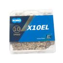 "KMC X10 EL Gold Kette | 1/2 x 11/128"" | Ti-N beschichtet"
