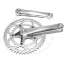 Kompakt Kurbelsatz *8219* 2-fach 50/34  | LK 110mm | Vierkant JIS