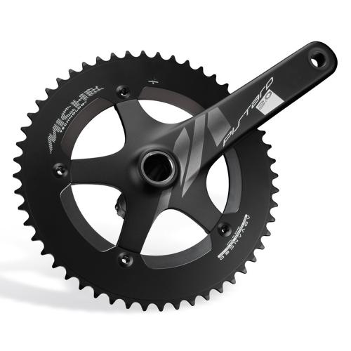 Miche Pistard 2.0 Kurbelsatz | BCD 144mm | 170mm | schwarz - 50T