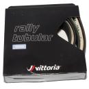 Vittoria Rally Rennrad Schlauchreifen | schwarz - 700 x 23C