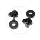 Kettenspanner für Vollachsen 10mm | für Bahnrahmen, BMX, Singlespeed | 2 Stück
