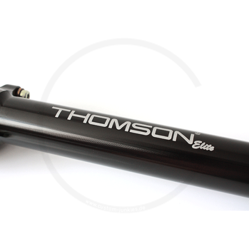 THOMSON Elite Straight Seatpost - schwarz, 27.0