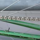 "KMC HL1 Wide Silver | Half-Link Kette | 1/2 x 1/8"" (breit) | vernickelt"