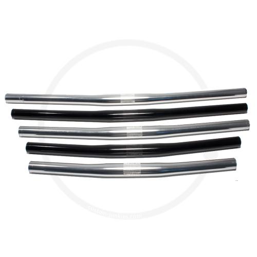 Custom Junkies Flatbar   Aluminium   Ø 25.4 / 22.2   silver or black