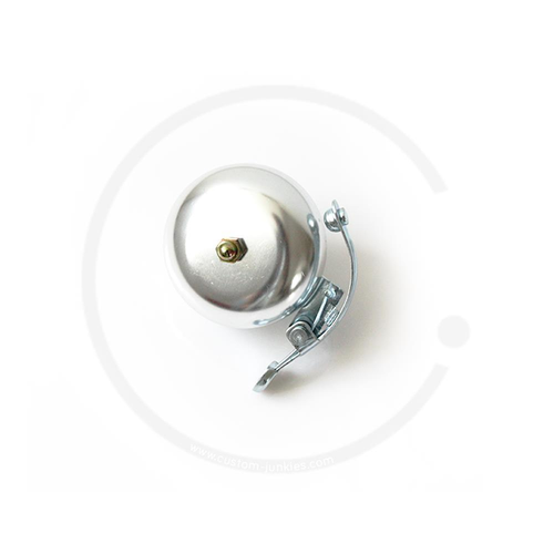 Classic Bicycle Bell | Vintage Road Bike - silver