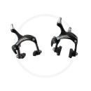 Miche Performance Caliper Brakes | Reach 41-57mm | Dual Pivot - black