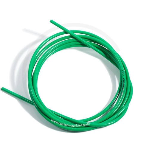 Jagwire CEX Brake Cable Outer Housing | Length 2.5m - green