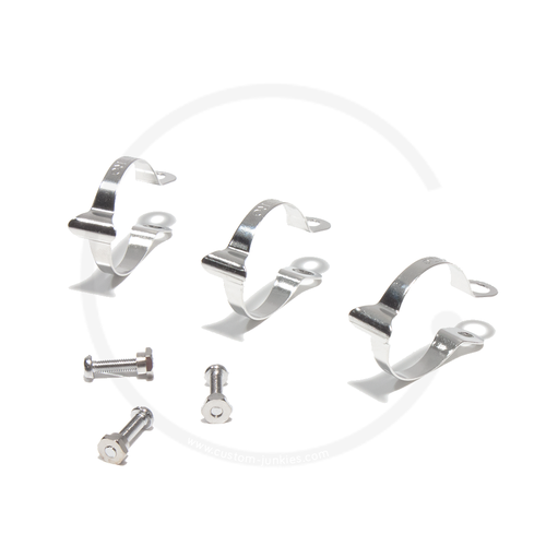 Tektro Cable Housing Clips for Top Tube | 3 Pcs - Ø 28.6