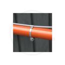 Tektro Kabelführungsschelle f. Oberrohr | 3 Stück - Durchmesser 28.6