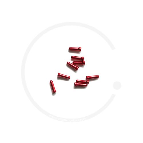 Endhülse/Quetschnippel Jagwire für Bremsinnenzug - rot