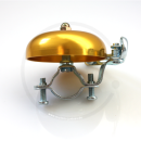 Classic Bicycle Bell | Vintage Road Bike - gold