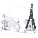 MKS Toe Clip Steel Toe Clips - size M