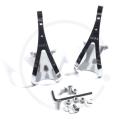 MKS Toe Clip Steel Pedalhaken - Gr. L