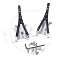 MKS Toe Clip Steel Toe Clips - size L