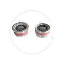 Replacement Bearing Cups for Token/ Neco/ Tecora E Bottom Brackets - Italian (36 x 24 tpi)