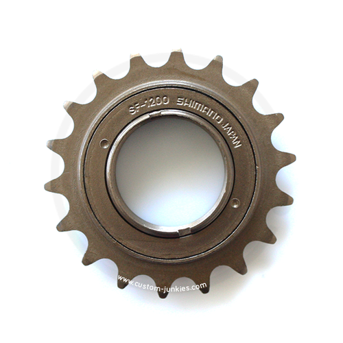 Shimano Single Speed Freewheel SF-1200 | brown | 1/2 x 1/8 - 18T