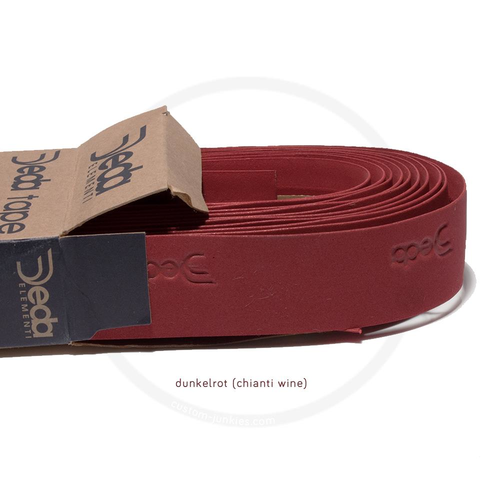 Deda Tape   Synthetic Handlebar Tape - dark red