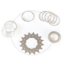 Single Speed Conversion Kit for Cassette Hubs Type (Shimano HG) - 17T