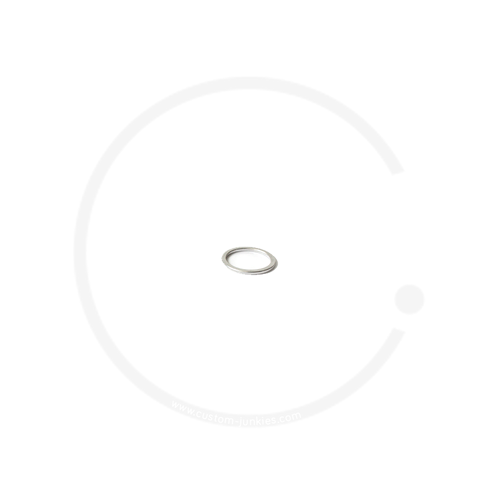 """Ahead Spacer 1"""" - silver, 2mm"""