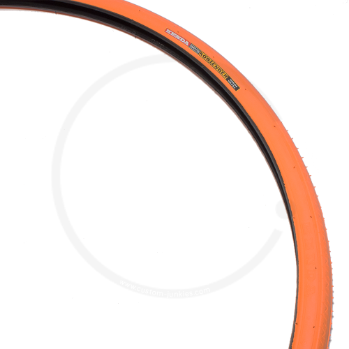 Kenda Kontender K-196   Rennrad / Fixie Drahtreifen   700x26C - orange