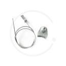 Querzug für Canti-/ Mittelzugbremse 380mm mit Kabelhalter/ Querzugträger