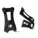 VP Components VP-792 Toe Clips | Plastic black - size L