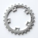 GEBHARDT Chainring Classic | Aluminium silver | 74mm BCD - 24T