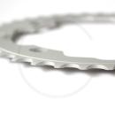 GEBHARDT Chainring Classic | Aluminium silver | 104mm BCD - 36T