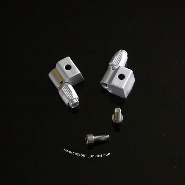 Jagwire Zuggegenhalter für Rennrad-Schaltsockel einstellbar2 Stück