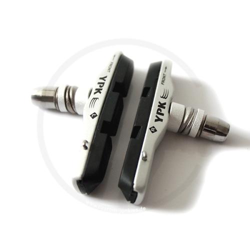 Bremsschuhe Jagwire / YPK 908C für V-Brakes | 70mm | silber
