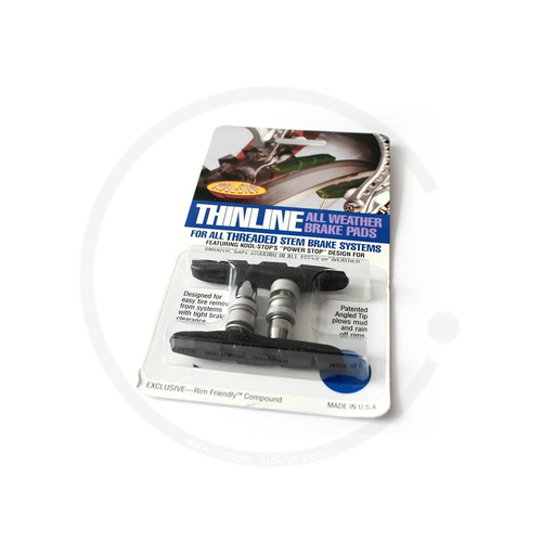 Brake Shoes Kool Stop Thinline T2 |  V-Brake | black