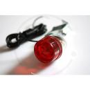 Retro Randonneur Strebenrücklicht   Rückleuchte (klein) - silber